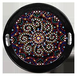 Folsom Mosaic Mandala Tray
