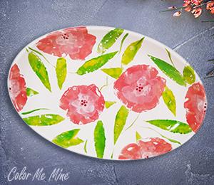 Folsom Floral Paper Stamping