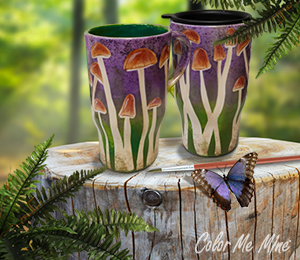 Folsom Mushroom Mugs
