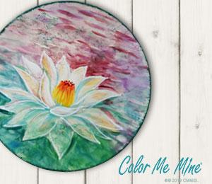 Folsom Lotus Flower Plate
